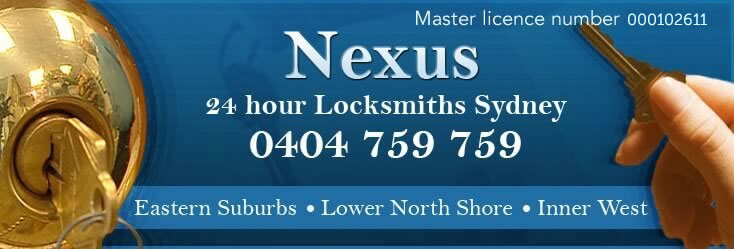 """Nexus Locksmiths Elizabeth Bay"""